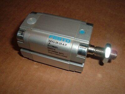 Festo Pneumatic Cylinder Aevu-25-25-a-p-a