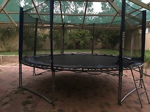 14ft trampoline with enclosure High Wycombe Kalamunda Area Preview