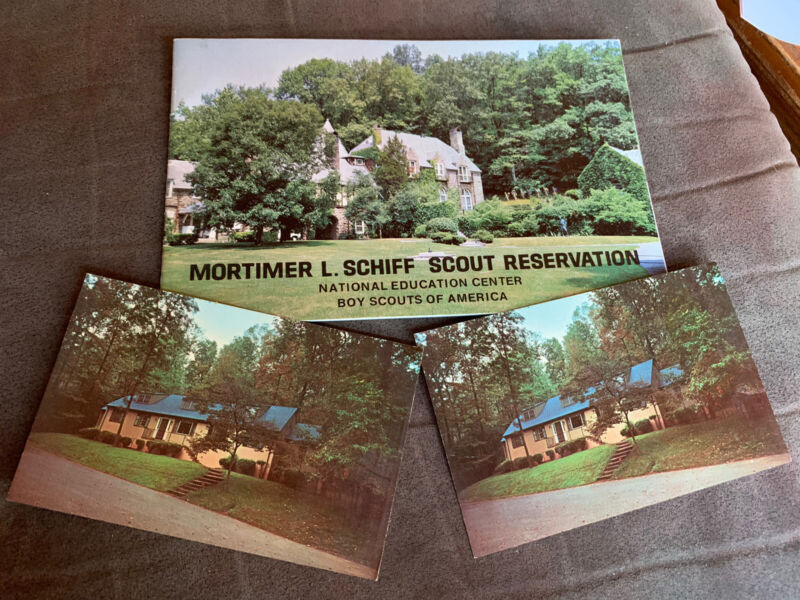 Schiff Scout Reservation Booklet & Postcards