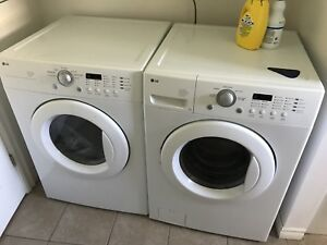 Lg washer dryer front loader with stands
