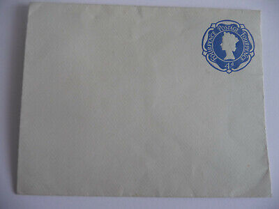 UK. 1967 Fourpence 4d pre envelope used in UK internal mail