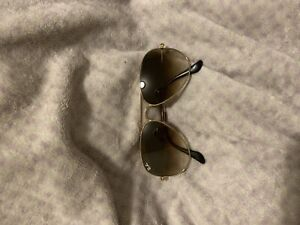 Authentic ray band gold aviator sunglasses
