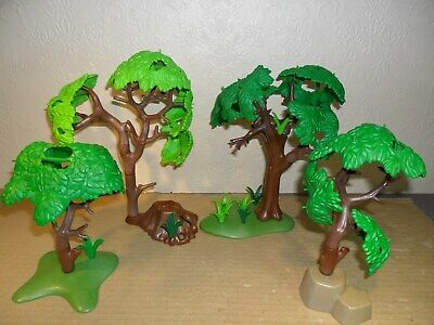 PLAYMOBIL FOREST TREES (For farm,zoo,stable,train set,dolls house)