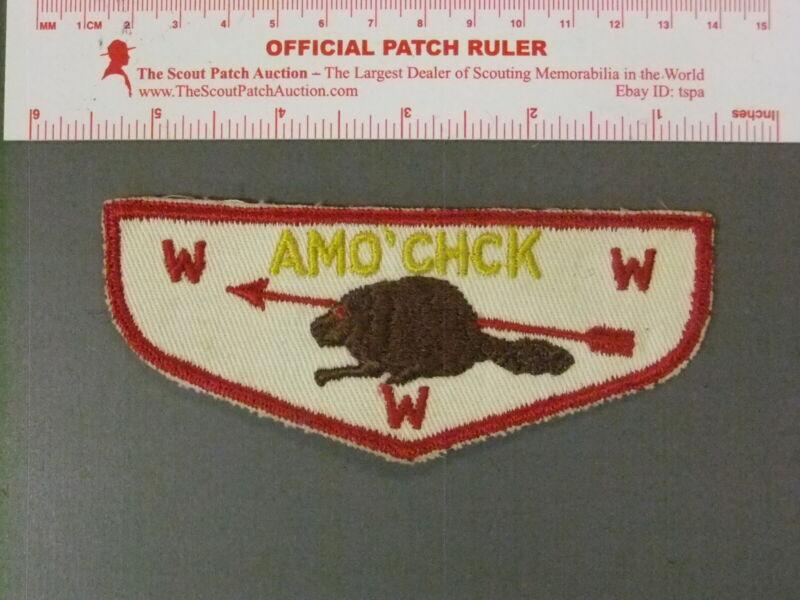 Boy Scout OA 339 Amo Chk Lodge Early Flap 7735JJ