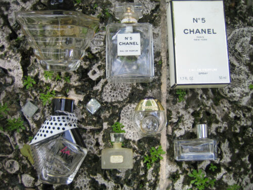 Perfume bottles Vintage Dior & other miniature & regular Qty 6