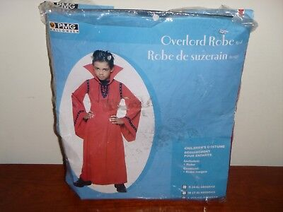 REd Devil Robe Halloween Costume  Vampire Size Boys 4-6  (Devil Costume For Boys)