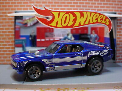 2020 Hot Wheels MUSTANG MACH 1 ✿ dark blue☆Multi Pack Exclusive?☆LOOSE Ford