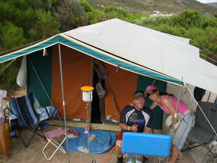 Large Canvas Family Tent & canvas tent | Camping u0026 Hiking | Gumtree Australia Free Local ...