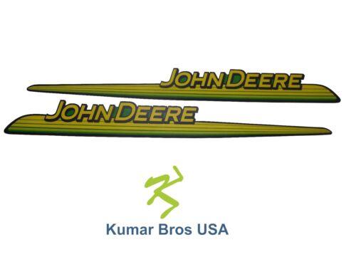 New John Deere LH & RH Upper Hood Decal Set GX big image