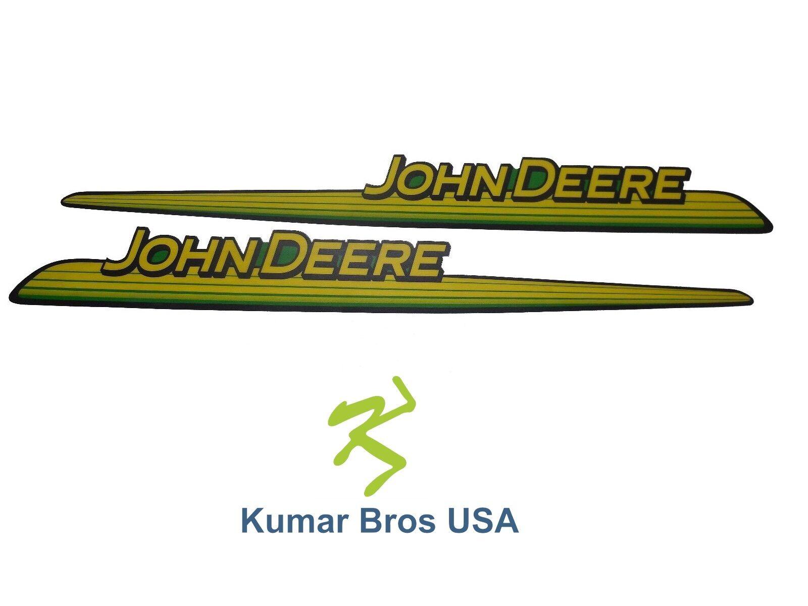 New John Deere LH & RH Upper Hood Decal Set GX thumbnail