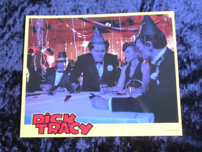 DICK TRACY lobby card # 5 AL PACINO mini lobby card