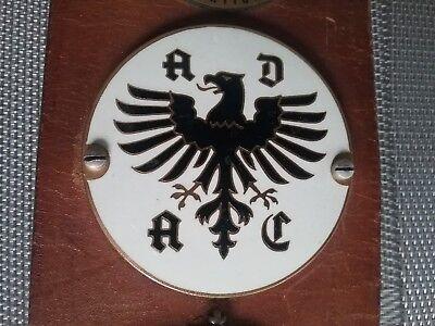 Adac Nachtorientierungsfahrt Plakette Emblem Automobilia