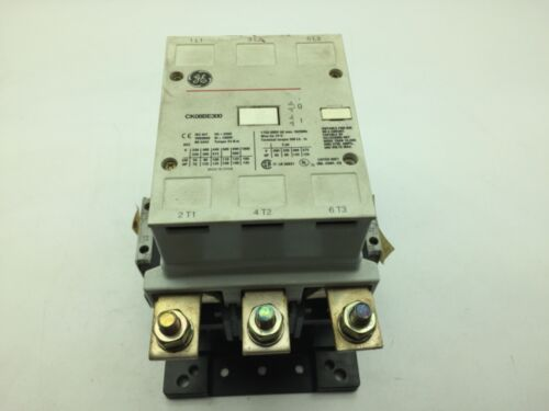 General Electric CK08BE300 Contactor 3 Pole 1000V 250A