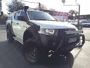 2008 Mitsubishi Triton Ute  MANUAL TURBO DIESEL 4X4 Heidelberg Heights Banyule Area Preview