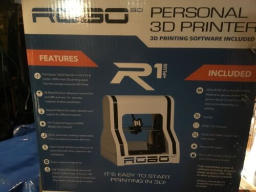 RoBo 3D 3D Printer White R1 PLUS +
