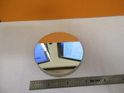 Optical Flat Large Round Mirror Laser Optics As Pictured 27-a-53