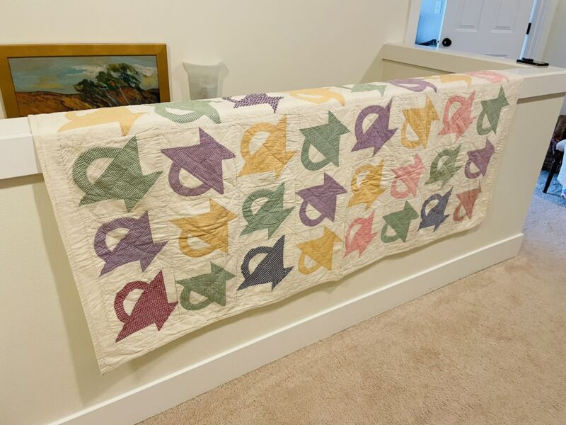 Spring 1940 Basket Quilt.So cute!