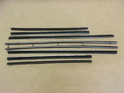 Used, New 1960-62 Valiant Lancer Hardtop Window Sweep Belt Weatherstrip Catwhisker for sale  Shipping to Canada