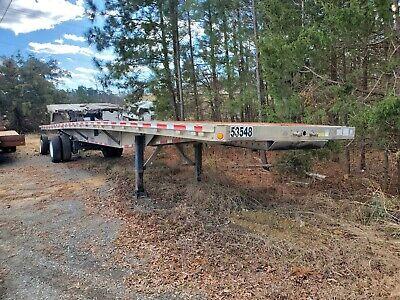 2015 Reitnouer Maxmiser 53ft Flatbed Burned For Parts