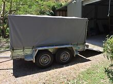 9x5' Tandem Trailer with Cage, Cover and Rear Folding Ramp Buderim Maroochydore Area Preview