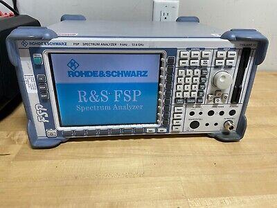 Rhode Schwarz Fsp Spectrum Analyzer 9khz- 13.6ghz Calibrated