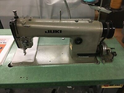 Juki Industrial Sewing Machine Dln-415-4 In Working Order Plus Extra Parts