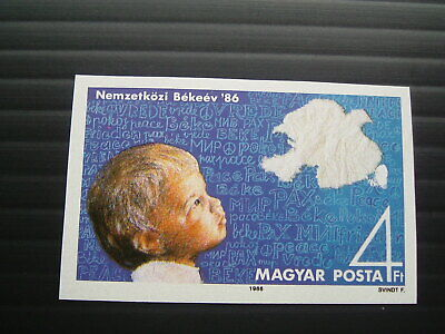 Hungary 1986.  Mi-3843B.  Single issue stamp.  Imperforated.  MNH.