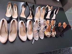 Womens heels pumps shoes x9 - 71/2 Ngunnawal Gungahlin Area Preview