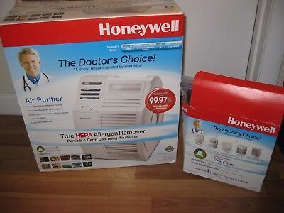 Honeywell 17000-S QuietCare True HEPA Air Purifier, 200 sq. ft. Weed out EUC