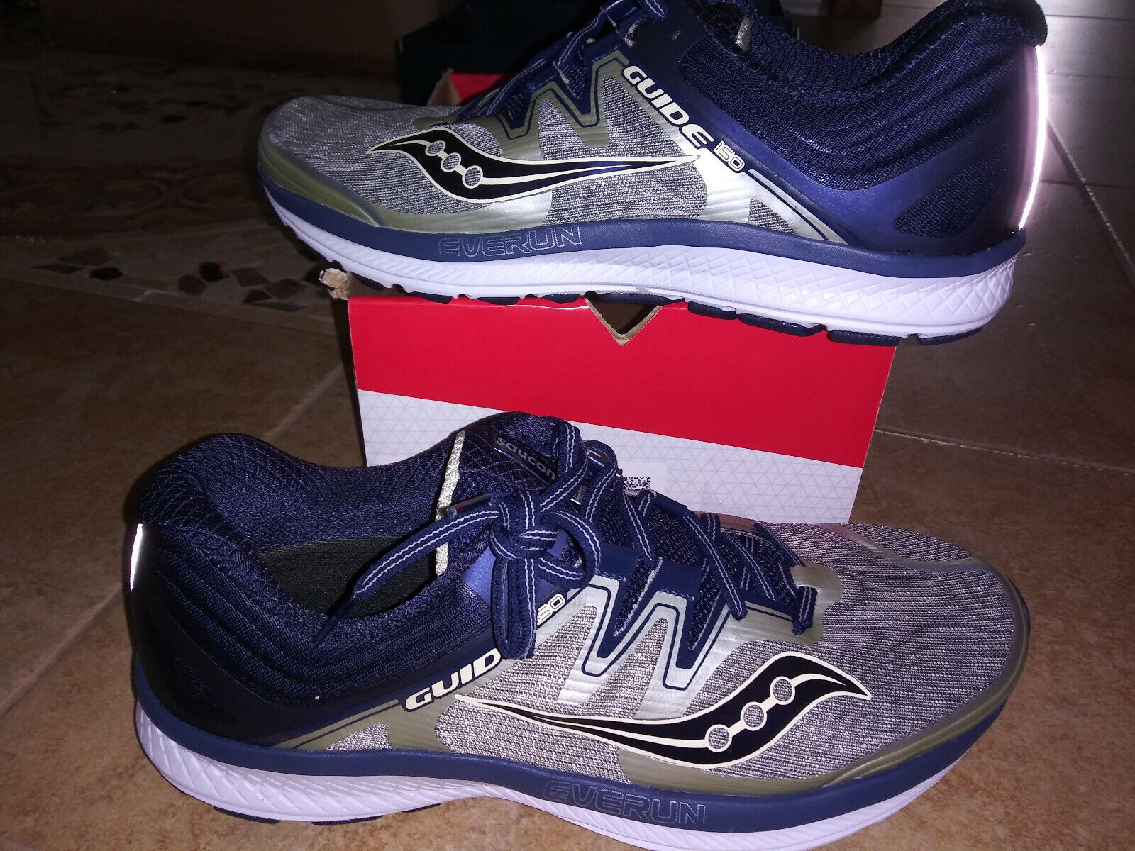 NEW $119 Mens Saucony Guide ISO  Running Shoes, size 12