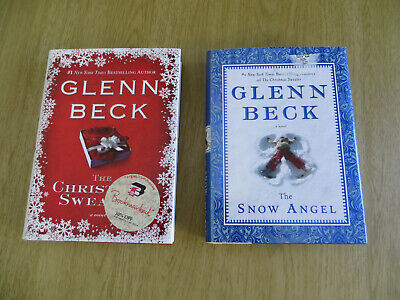 2 Glenn Beck Books THE CHRISTMAS SWEATER & THE SNOW ANGEL  ()