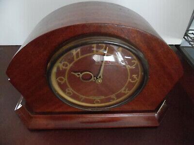 ANTIQUE SETH THOMAS CAT #3695 ELECTRIC MANTLE CLOCK
