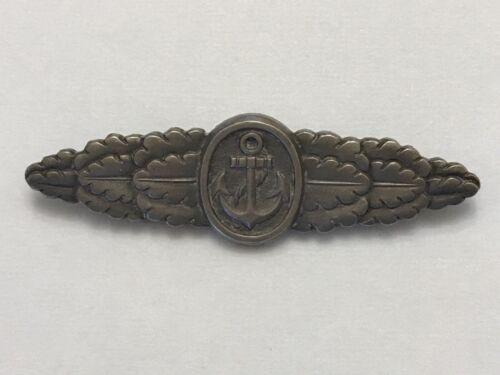 WWII German Naval Combat Clasp  ORIGINAL AND RARE!!!!
