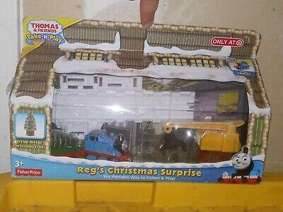 Thomas & Friends Reg's Christmas Surprise Take N Play Train Set Fisher Price NEW