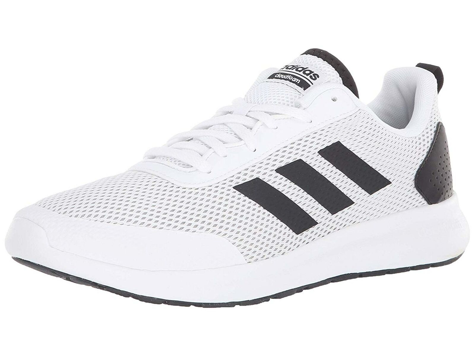 NEW! Mens Adidas Element Race Argecy White Athletic Sport Sh