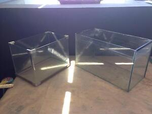 2 GLASS FISH tANKS - SMALL TO MEDIUM Hurstville Hurstville Area Preview