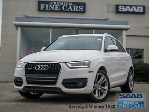 2015 Audi Q3 Navigation/Backup camera/Leather