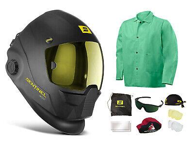 Esab Sentinel A50 Welding Helmet Lg Steiner Welding Jacket Free Accessories