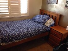 Timber single slat bed Engadine Sutherland Area Preview