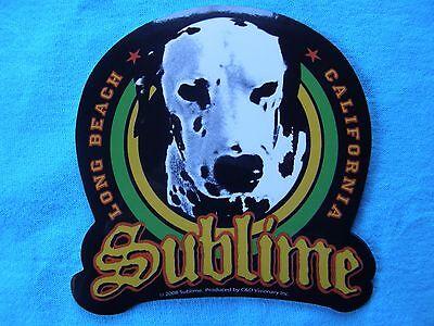 Sublime Loudog Long Beach California Sticker