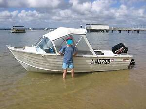 Stacer 4.57m Aluminium Runabout. Sheldon Brisbane South East Preview