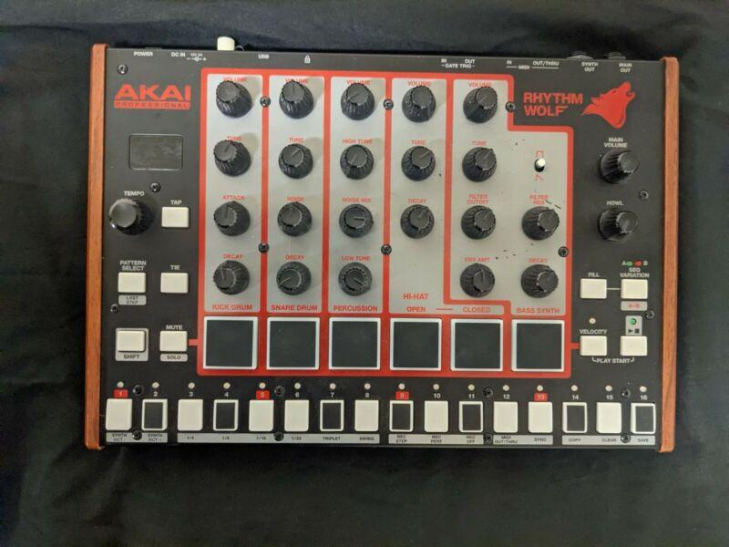 Akai Professional Rhythm Wolf Analog Drum Machine / Bass Synthesizer Module