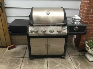 Stainless barbeque