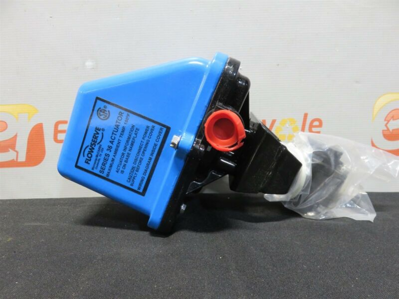 """Flowserve Series 36 Actuator 3/4"""" 150° Worcester Controls A444466PMSE New"""