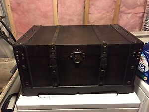 Pair of newer vintage style chests