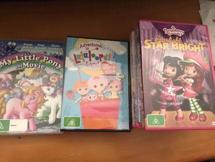REDUCED Kids DVDs