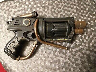 Nerf Gun Maverick REV-6 Custom Cosplay Dieselpunk Steampunk Gears Renaissance