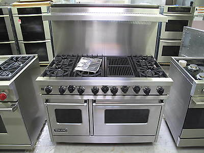 "viking 48"" range dual fuel   6 burners + grill    mint condition NG or LP on Rummage"