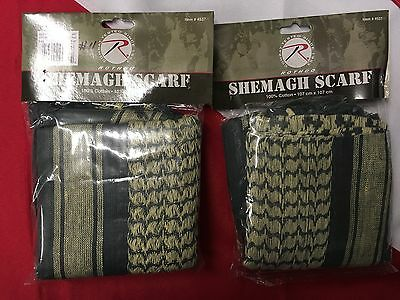 Rothco shemagh tactical desert scarf survival gear emergency FOLIAGE  #11 uget 2
