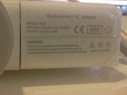 Mac macbook 60w power cable NEW replacement Byford Serpentine Area Preview